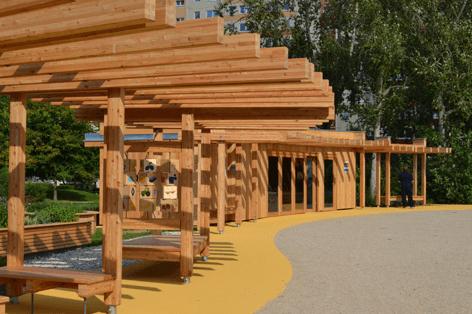 Парк городского квартала (kiezPARK FORTUNA)