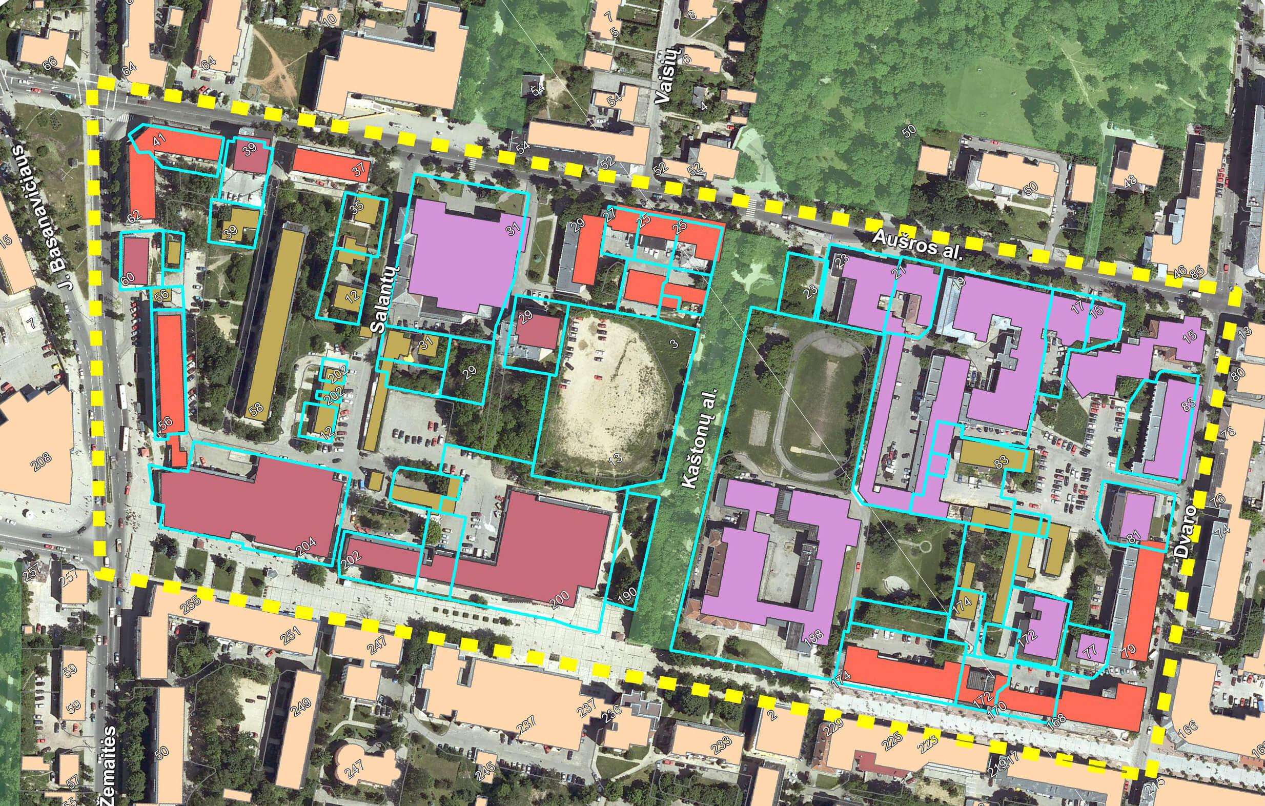 Энергетическая санация городских кварталов в Литве