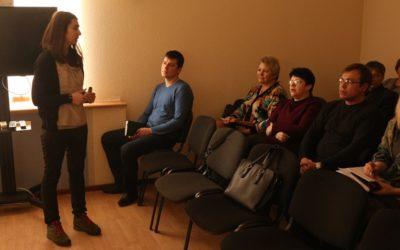 В Чаусах прошёл семинар «Общественные обсуждения в городах Беларуси»