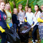 Волонтёры очистили побережье реки Дебря